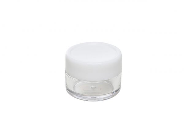 Cosmetic Jar Empty, Plastic 10ml