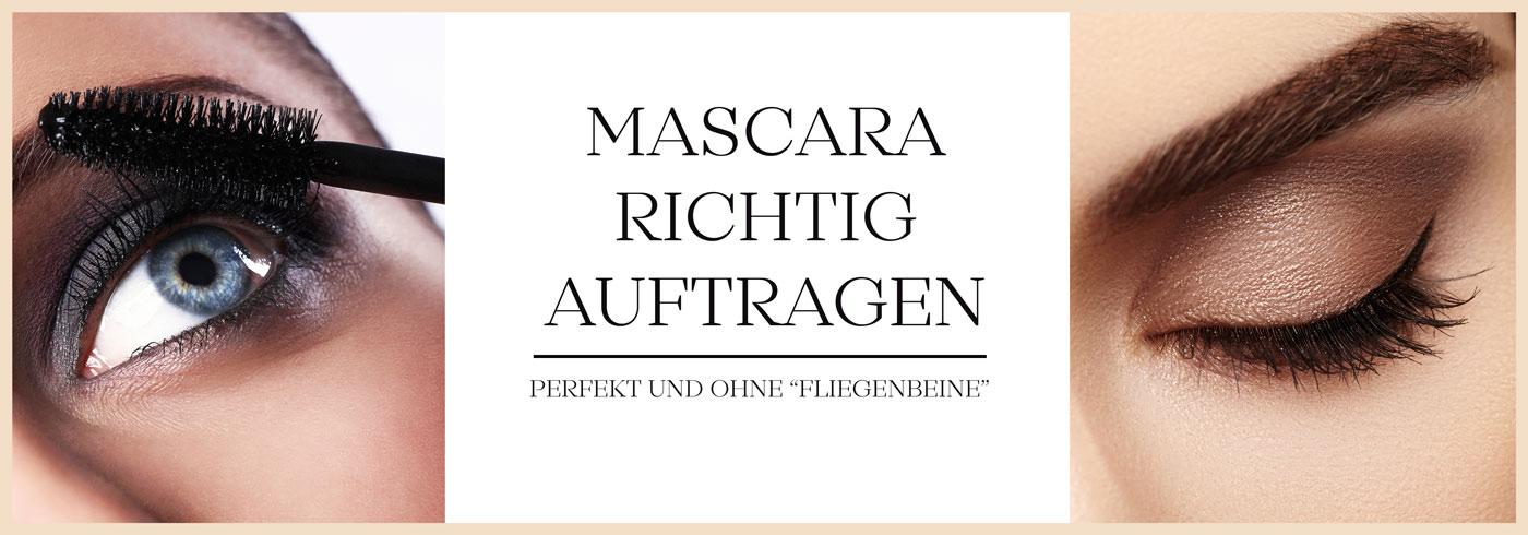 Mascara richtig auftragen